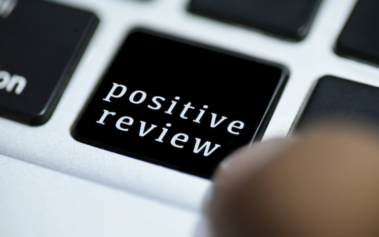 positive review on keyboard - patient pipeline